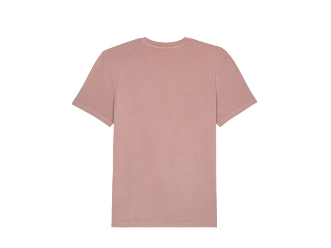 Stückgefärbtes T-Shirt - G. Dyed Canyon Pink - M bedrucken, Art.-Nr. STTU831C5121M