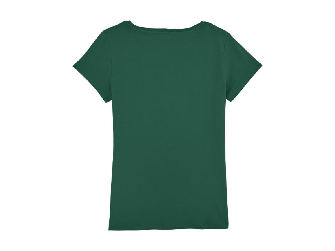 Damen Anliegendes T-Shirt - Bottle Green - XXL bedrucken, Art.-Nr. STTW028C2242X