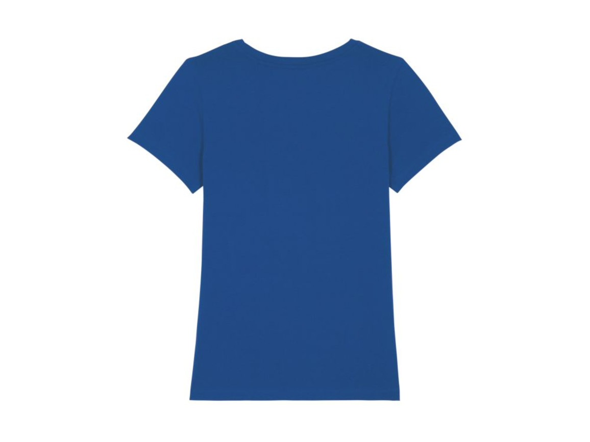 Iconic Damen anliegendes T-Shirt - Majorelle Blue - S bedrucken, Art.-Nr. STTW032C0341S