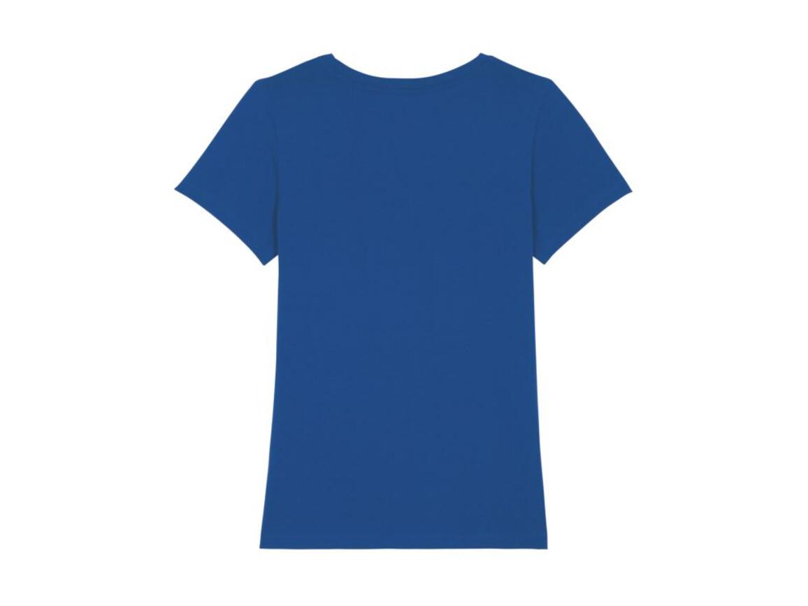 Iconic Damen anliegendes T-Shirt - Majorelle Blue - XL bedrucken, Art.-Nr. STTW032C0341X