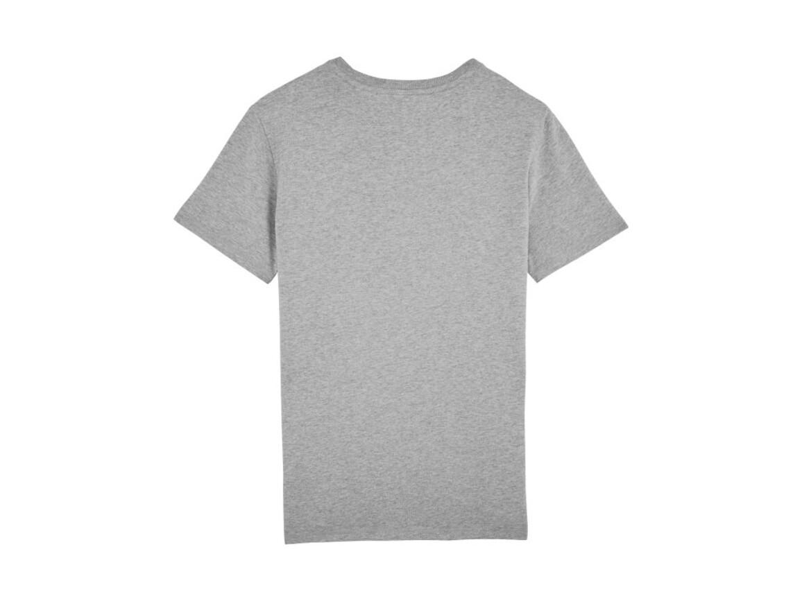 Schweres T-Shirt mit Rundhalsausschnitt - Heather Grey - L bedrucken, Art.-Nr. STTM618C2501L