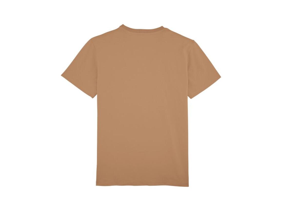 Schweres T-Shirt mit Rundhalsausschnitt - Camel - 3XL bedrucken, Art.-Nr. STTM618C0103X