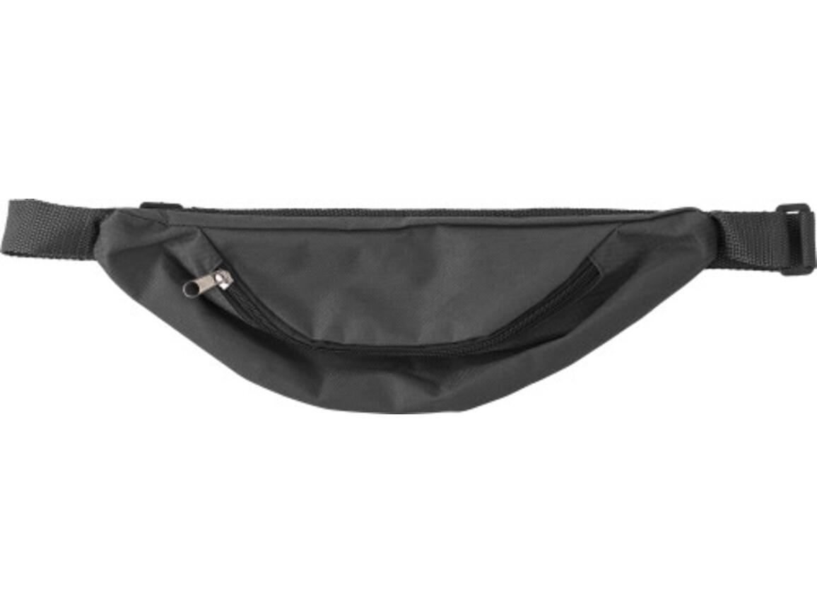 Hüfttasche 'Shift' aus Polyester – Schwarz bedrucken, Art.-Nr. 001999999_8458