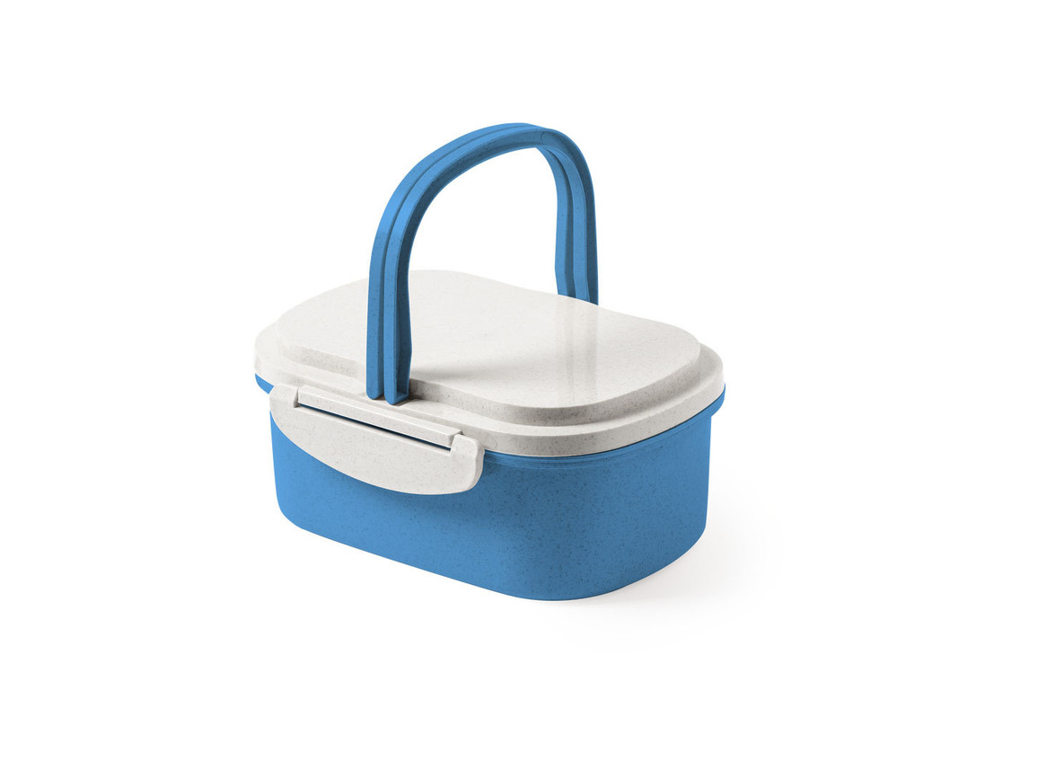 Konpel - Lunch Box - BLUE bedrucken, Art.-Nr. 6309AZULS/T