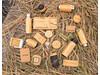 Bamboo X 5W Wireless Charger braun bedrucken, Art.-Nr. P308.279