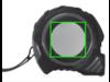 5m/19mm Auto-Stopp II grau, schwarz bedrucken, Art.-Nr. P113.452