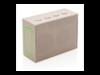 3W Weizenstroh Mini Lautsprecher braun bedrucken, Art.-Nr. P328.709