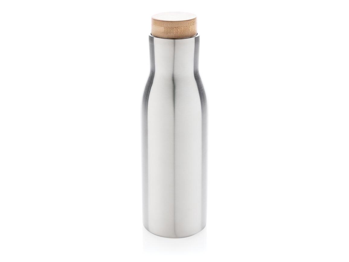 Clima auslaufsichere Vakuum-Flasche grau bedrucken, Art.-Nr. P436.612