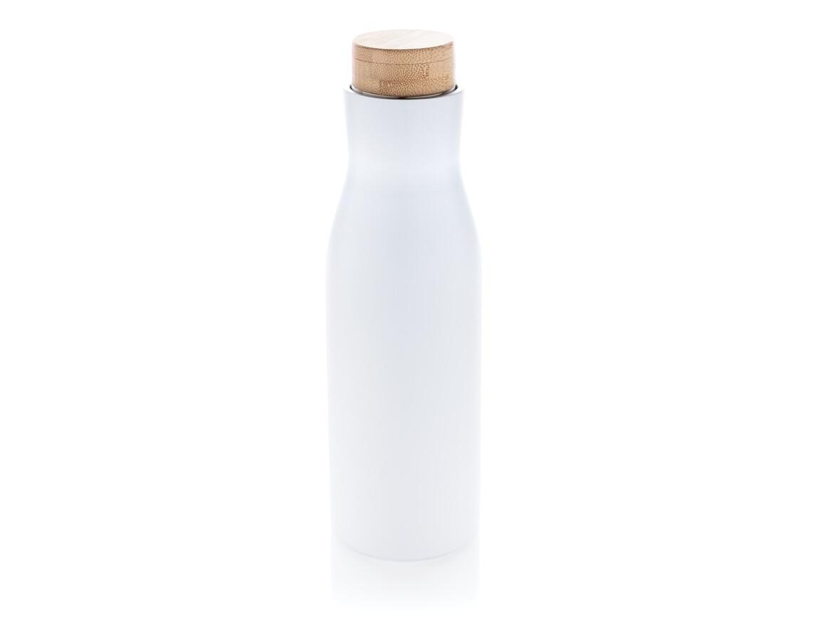 Clima auslaufsichere Vakuum-Flasche weiß bedrucken, Art.-Nr. P436.613
