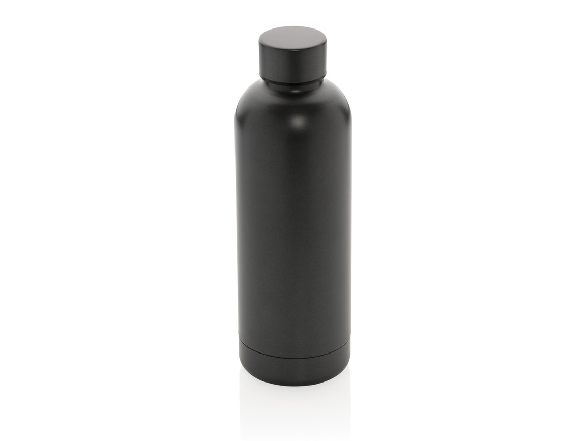 Impact doppelwandige Stainless Steel Vakuum-Flasche grau bedrucken, Art.-Nr. P436.372