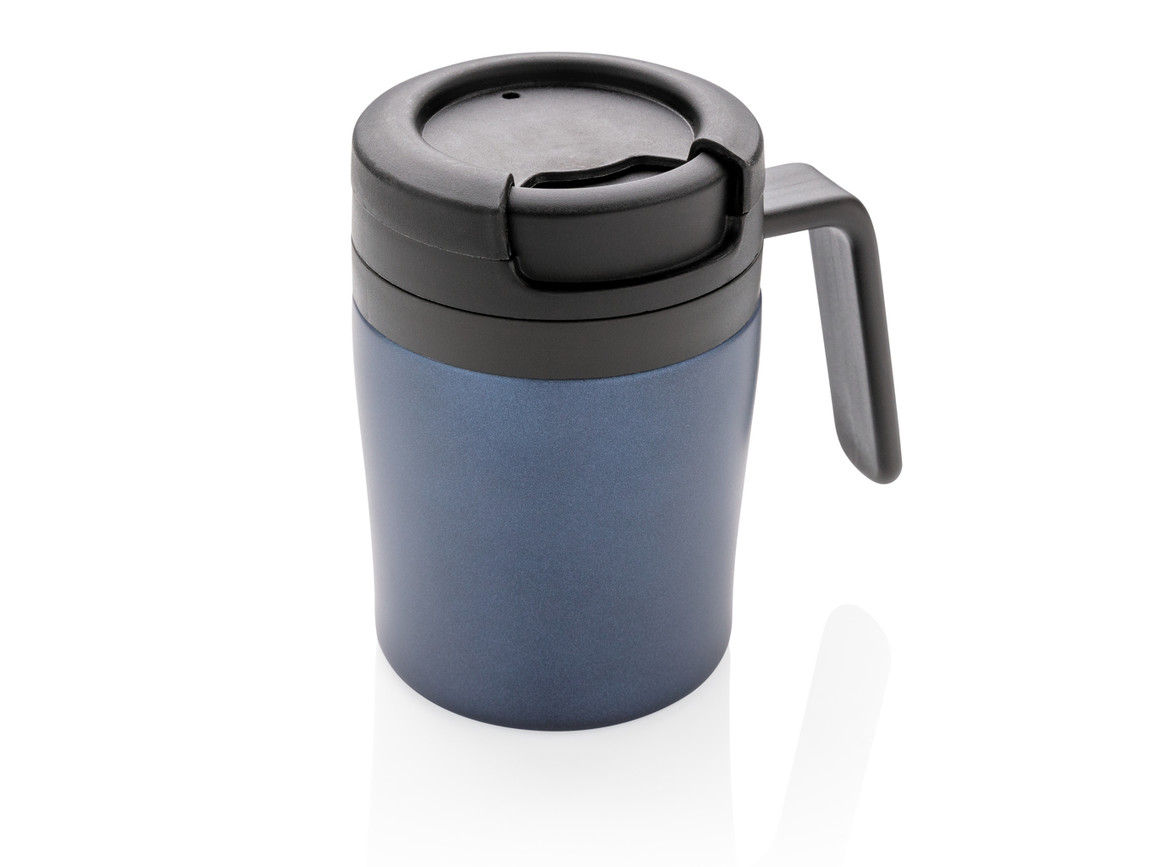 Coffee to go Tasse blau bedrucken, Art.-Nr. P432.945