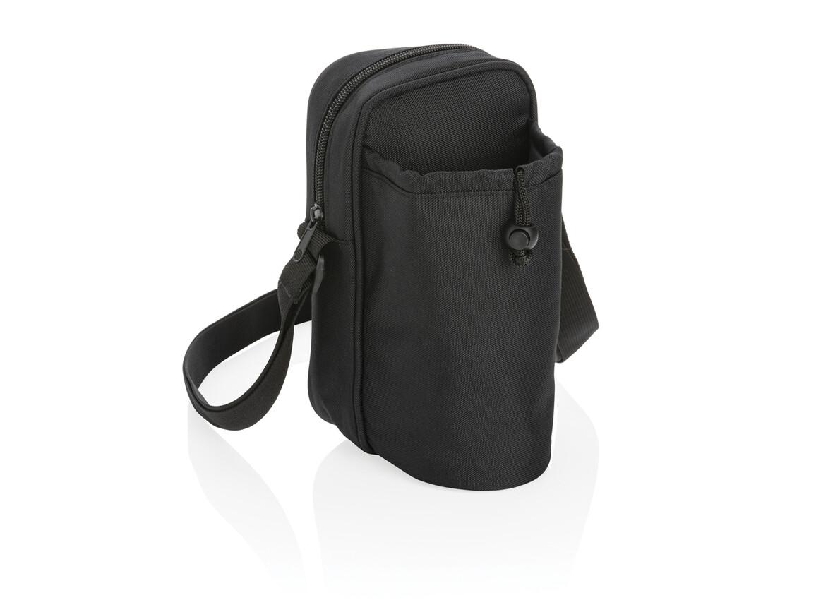 Tierra Sling Kühltasche schwarz bedrucken, Art.-Nr. P422.341