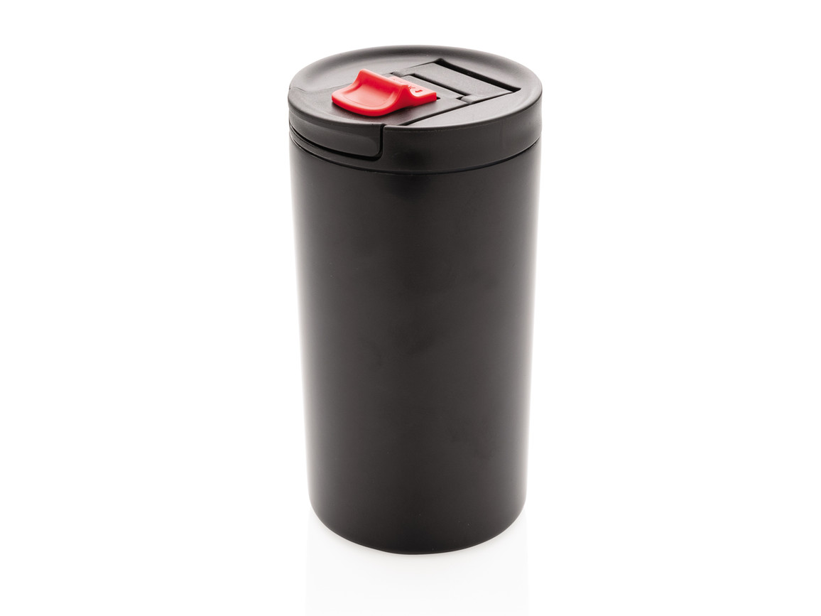 Doppelwandiger Vakuum-Becher 300ml schwarz bedrucken, Art.-Nr. P432.641