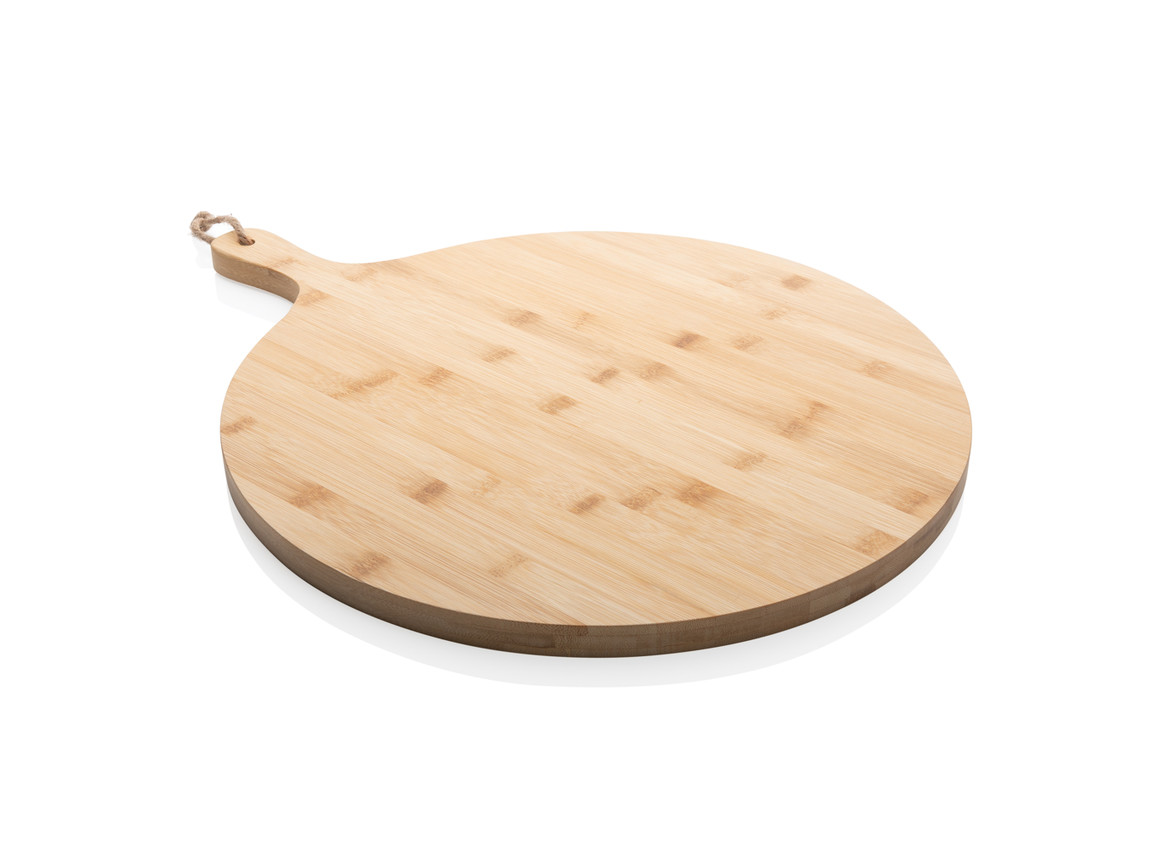 Ukiyo rundes Bambus-Serviertablett braun bedrucken, Art.-Nr. P261.029