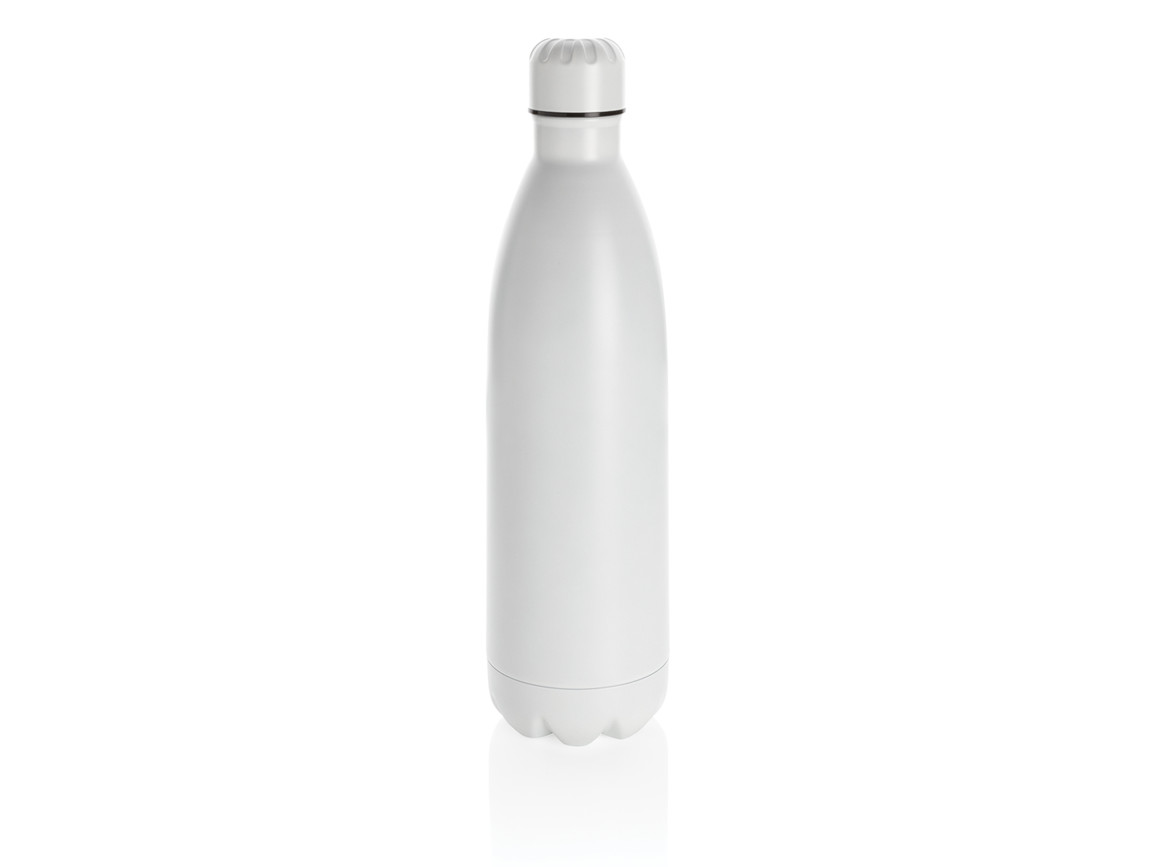 Solid Color Vakuum Stainless-Steel Flasche 1L weiß bedrucken, Art.-Nr. P436.913